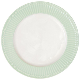 GreenGate Dinner Plate Alice Pale Green