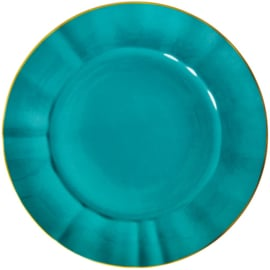 Rice Porcelain Charger Plate -Jade