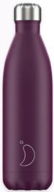 Chilly's Drink Bottle 750 ml Matte Purple