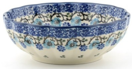 Bunzlau Well Up Bowl 220 ml ⌀ 12 cm Royal Blue