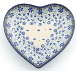 Heart Shape Shallow Dish Small 1959