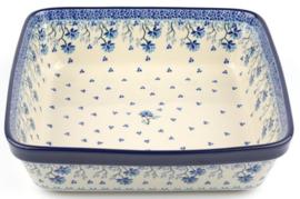 Bunzlau Oven Dish Square 3200 ml Daydream 27 x 8 x 27 cm