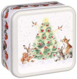 Wrendale Designs Christmas Tin 'A Woodland Christmas'
