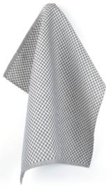 Bunzlau Tea Towel Small Check Dark Blue
