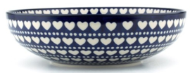 Bunzlau Serving Bowl 2650 ml Ø:27 cm Blue Valentine