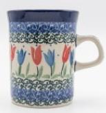 Bunzlau Straight Mug 250 ml Tulip Royal -Limited Edition-