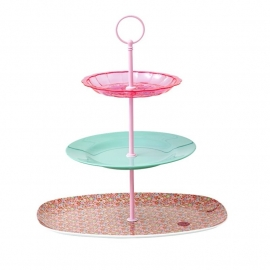 Rice 3 Tier Do It Yourself Cake Rod Stand in Pink -borden niet inbegrepen-