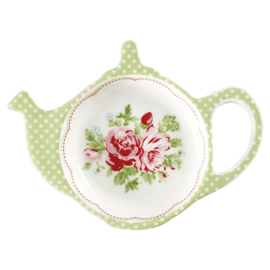 GreenGate Teabag holder Mary white
