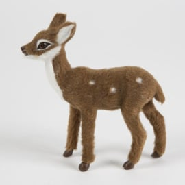 Sass & Belle Christmas Decoration Ronnie the Soft Standing Fawn