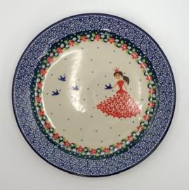 Bunzlau Plate 20 cm Princess -Limited Edition-