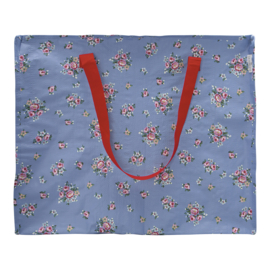 GreenGate Storage Bag Nicoline dusty blue Large