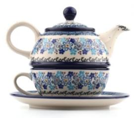 Bunzlau Tea for One Springtime