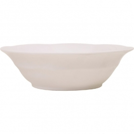 Rice Melamine Soup Bowl in White