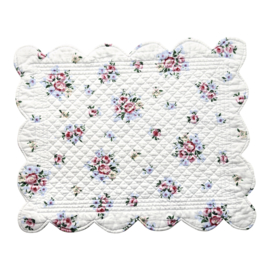 GreenGate Quilted Placemat Nicoline white