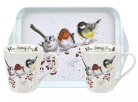 Wrendale Designs Xmas Mug & Tray set