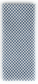 Bunzlau Table Runner Checkered 45 x 140 cm