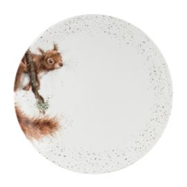 Wrendale Designs Dinner Plate Squirrel
