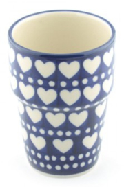 Bunzlau Milk Mug 240 ml Blue Valentine