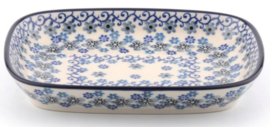Bunzlau Tray Small 15 x 18,5 cm Winter Garden
