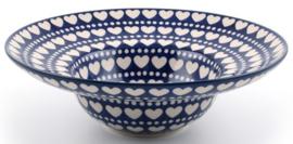 Bunzlau Pasta Plate Deep Ø 25 cm Blue Valentine