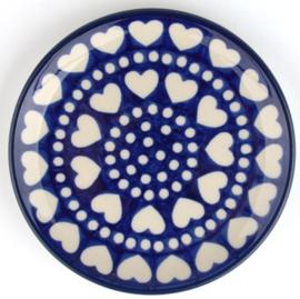 Bunzlau Cakedish 12,3 cm Blue Valentine