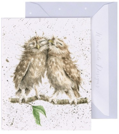 Wrendale Designs 'Birds of a Feather' miniature card