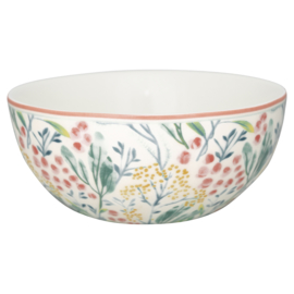 GreenGate Cereal Bowl Megan white -stoneware-