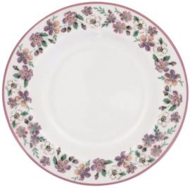 GreenGate Small Plate Marie petit dusty rose -stoneware-