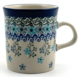 Bunzlau Straight Mug Small 150 ml Garland