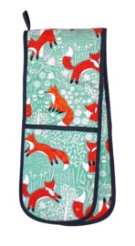 Ulster Weavers Double Oven Glove Foraging Fox