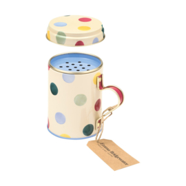 Emma Bridgewater Polka Dot Baking Duster in Tin / Sugar Shaker