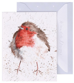 Wrendale Designs 'The Jolly Robin' miniature card