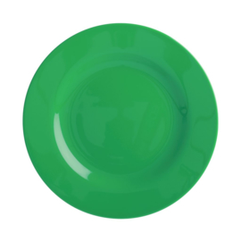 Rice Melamine Side Plate in Forest Green