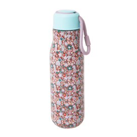 Rice Isolating Drinking Bottle with Fall Floral print - RVS