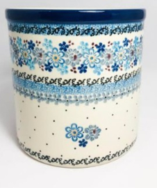 Bunzlau Flowerpot - Kitchen Utensil Pot Springtime