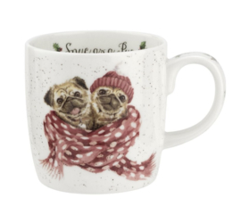 Wrendale Designs Snug as a Pug Mug