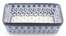 Bunzlau Oven Dish Rectangular 2850 ml Belle Fleur 22 x 8 x 28 cm