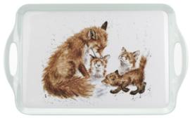 Wrendale Designs Fox Large Melamine Tray