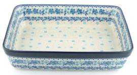 Bunzlau Oven Dish Rectangular 3870 ml Melody 25,5 x 7,5 x 32 cm