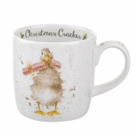 Wrendale Designs Christmas Cracker Christmas Mug