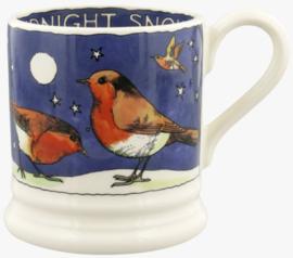 Emma Bridgewater Robins in the Snow 1/2 Pint Mug