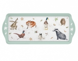 Wrendale Designs Woodland Melamine Sandwich Tray