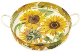 Emma Bridgewater Sunflowers Large Handled Tin Tray