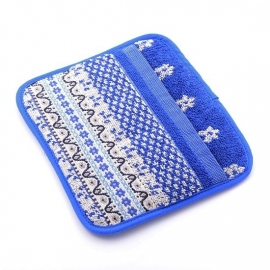 Bunzlau Kitchen Pot Holder Marrakesh Royal Blue
