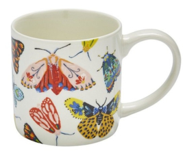 Ulster Weavers Straight Sided Mug Butterfly House -Model A-