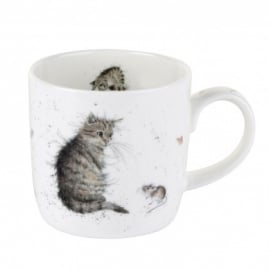 Wrendale Designs Cat and Mouse Mug