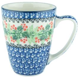 Bunzlau Mug 300 ml Holly Berry