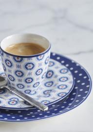 GreenGate Small Plate Erin petit pale blue -stoneware-
