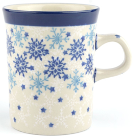 Bunzlau Straight Mug 250 ml Christmas Stars