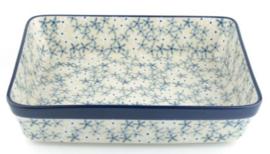 Bunzlau Oven Dish Rectangular 3870 ml Sea Star 25,5 x 7,5 x 32 cm